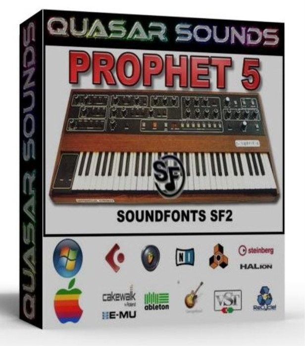 First Additional product image for - Prophet 5 Samples Wave Kontakt Reason Logic Halion