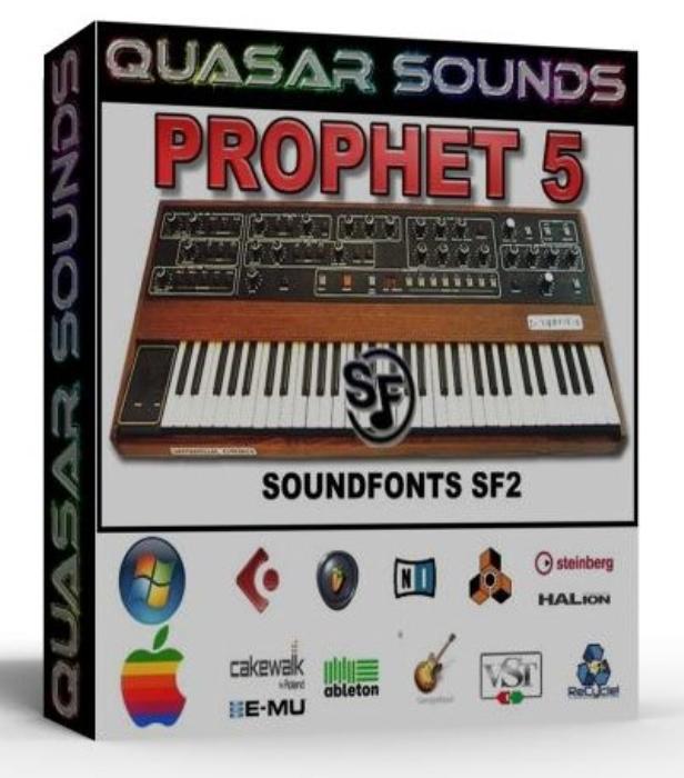 First Additional product image for - Prophet 5 Samples Wave Kontakt Reason Logic Halion