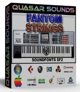Fantom Orchestra Strings Samples Wave Kontakt Reason Logic | Music | Soundbanks