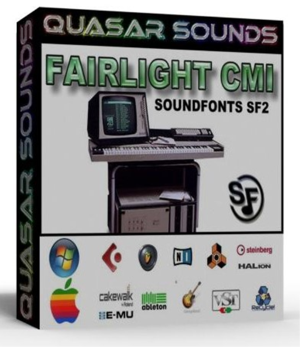 First Additional product image for - Fairlight Cmi Samples Wave Kontakt Reason Logic Halion