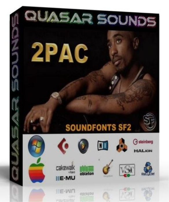 First Additional product image for - 2pac Sample Kit – Wave Kontakt Reason Logic Halion