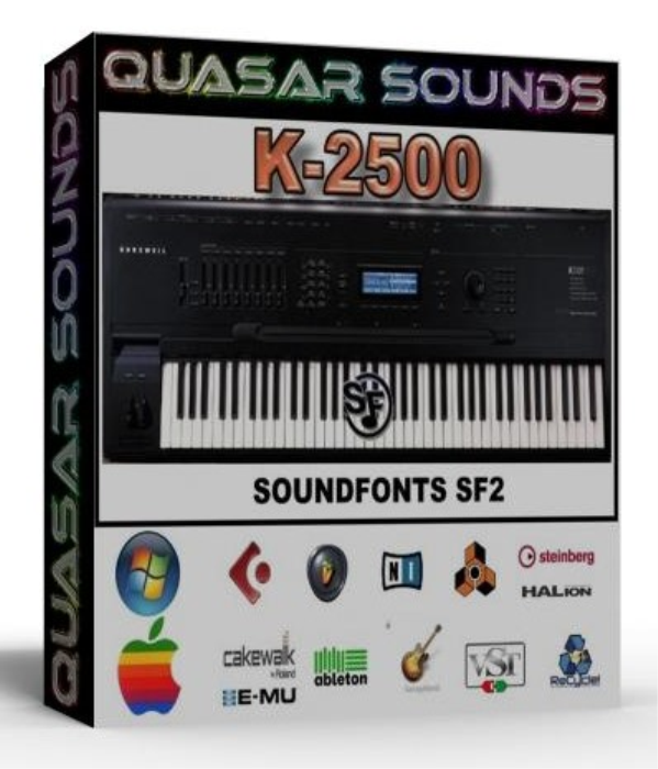 First Additional product image for - Kurzweil K-2500 Samples Wave Kontakt Reason Logic Halion
