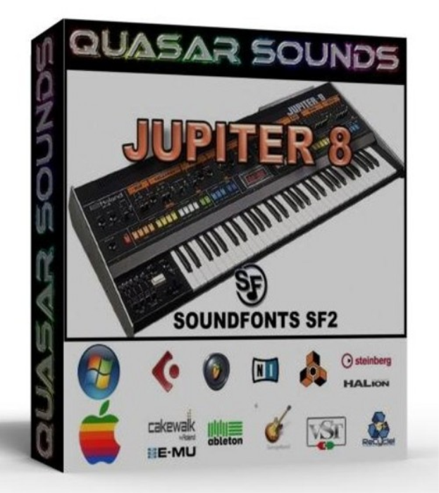First Additional product image for - Roland Jupiter 8 Samples Wave Kontakt Reason Logic Halion