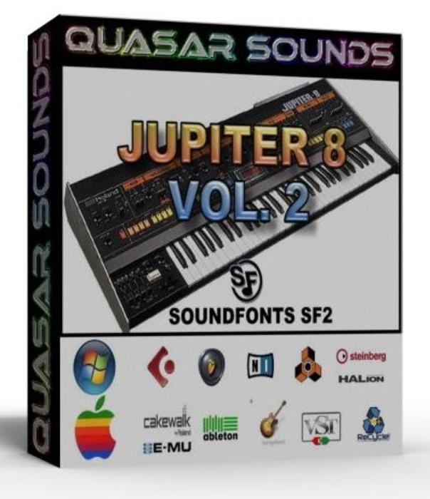 First Additional product image for - Roland Jupiter 8 Vol.2 Samples Wave Kontakt Reason Logic