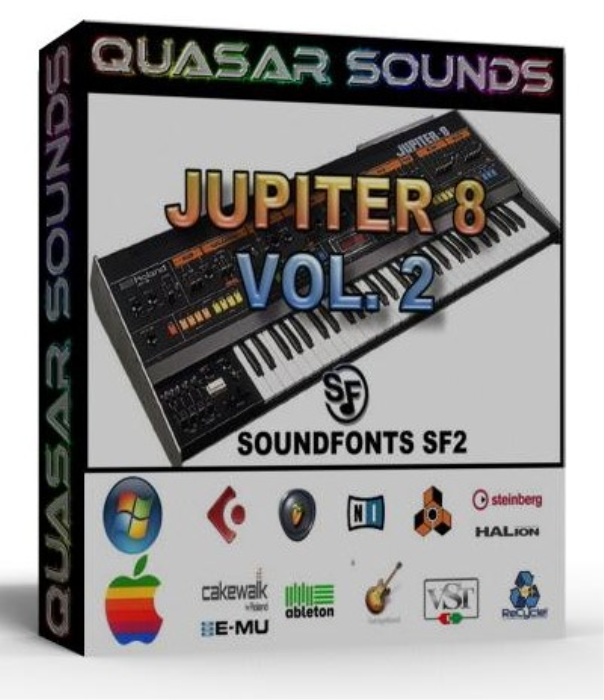 First Additional product image for - Roland Jupiter 8 Vol.2 Samples Wave Kontakt Reason Logic
