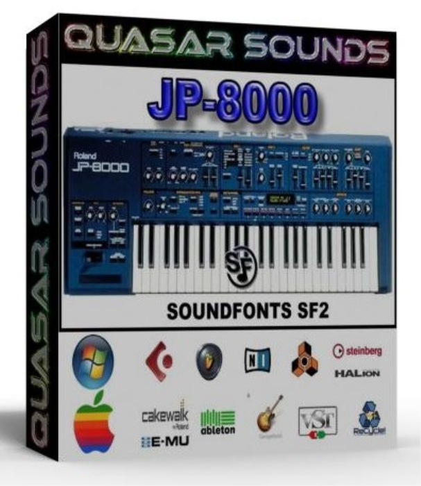 First Additional product image for - Roland Jp 8000 Samples Wave Kontakt Reason Logic Halion