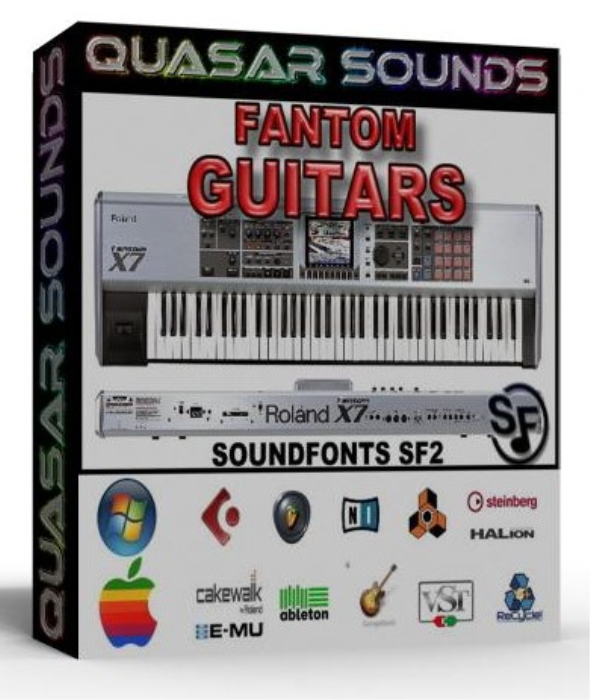 First Additional product image for - Roland Fantom Guitars – Wave Kontakt Reason Logic