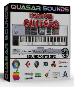 roland fantom guitars – wave kontakt reason logic