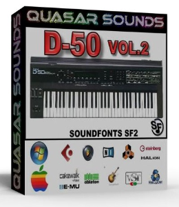 Roland D-50 Vol.2 Samples Wave Kontakt Reason Logic Halion | Music | Soundbanks