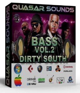 Dirty South Bass Vol 2 – Wav Kontakt Reason Logic Halion | Music | Soundbanks
