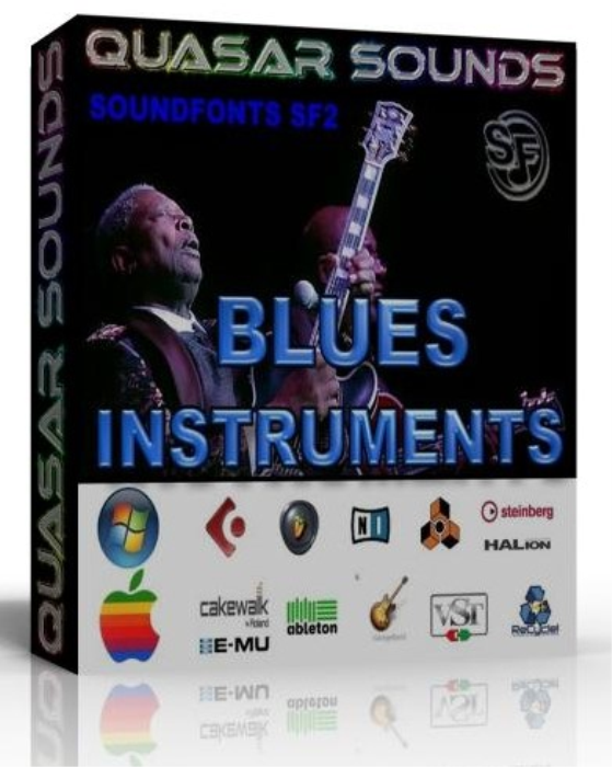 First Additional product image for - Blues Instruments Samples – Wav Kontakt Logic Reason
