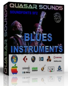 Blues Instruments Samples – Wav Kontakt Logic Reason | Music | Soundbanks
