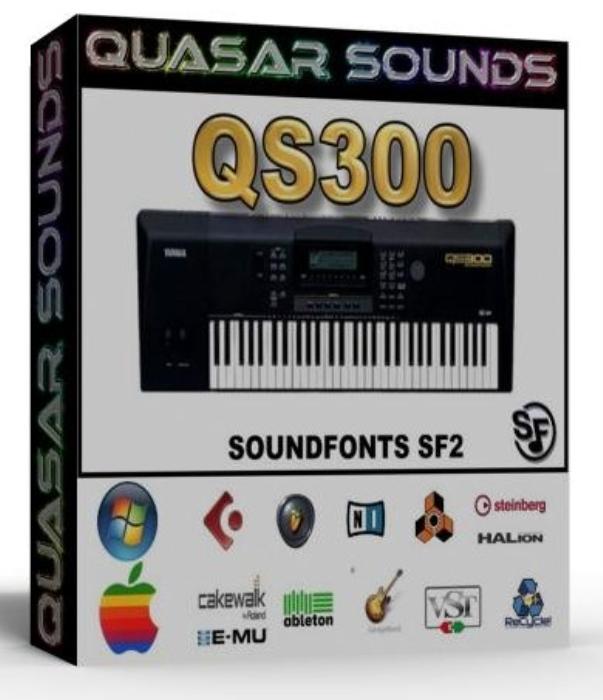 First Additional product image for - Yamaha Qs-300 Samples Wave Kontakt Reason Logic Halion