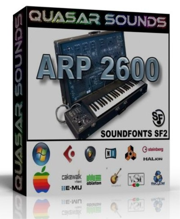 First Additional product image for - Arp 2600 Samples Wave Kontakt Reason Logic Halion