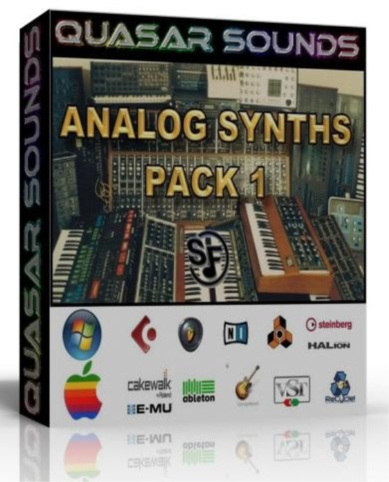 First Additional product image for - Vintage Analog Synths Wave Kontakt Reason Logic Halion