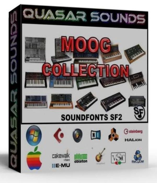 First Additional product image for - Moog Synth Samples Wave Kontakt Reason Logic Halion