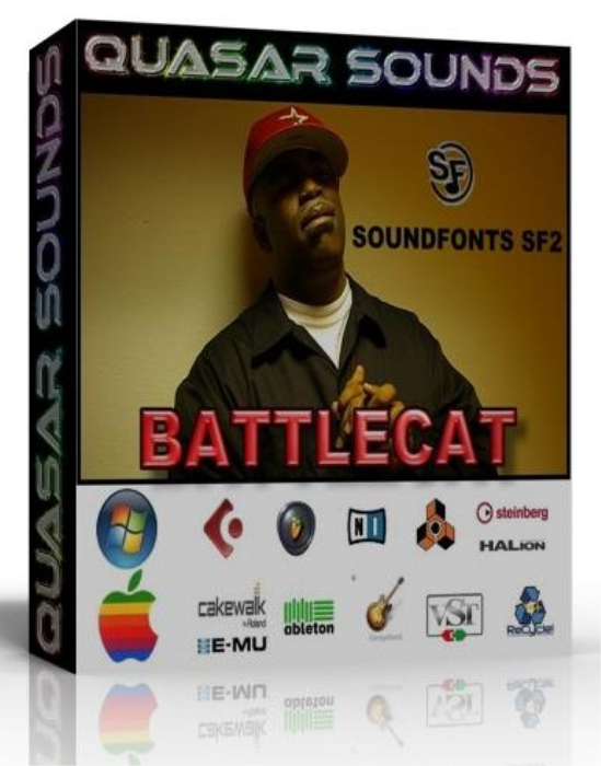 First Additional product image for - Battlecat Samples Kit Wave Kontakt Reason Logic Halion