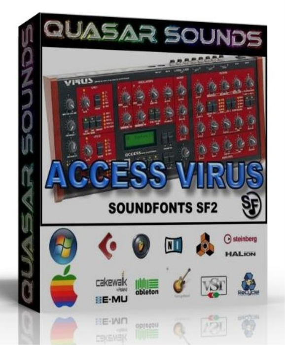 First Additional product image for - Access Virus Samples Wave Kontakt Reason Logic Halion