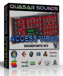 access virus samples wave kontakt reason logic halion
