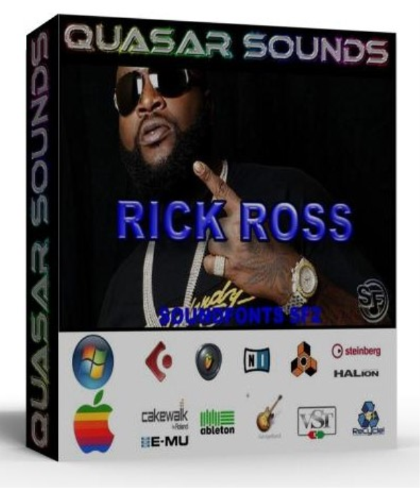 First Additional product image for - Rick Ross Samples Wave Kontakt Reason Logic Halion