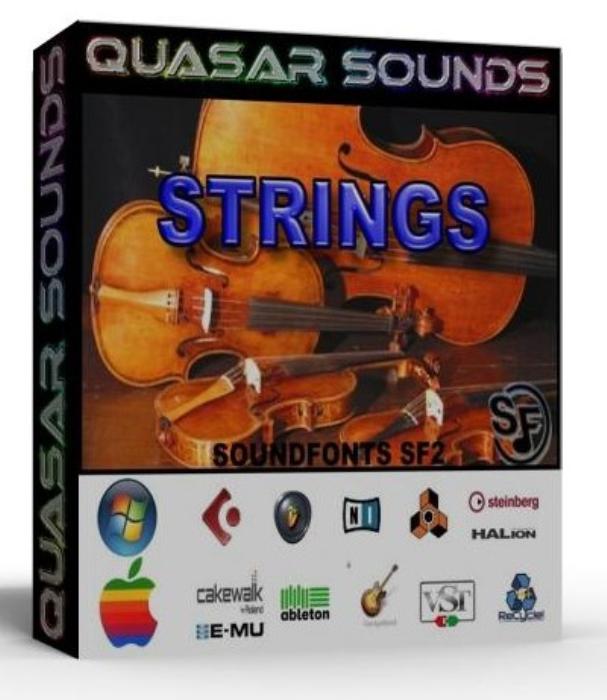 First Additional product image for - Strings Instruments Samples – Wave Kontakt Reason Logic
