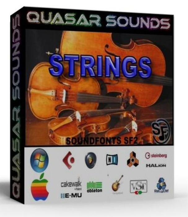 First Additional product image for - Strings Instruments Samples – Wave Kontakt Reason Logic