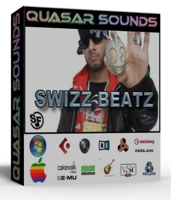 First Additional product image for - Swizz Beatz Samples Wave Kontakt Reason Logic Halion