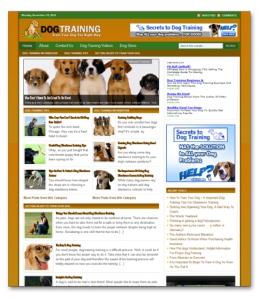 the dog training ready made blog