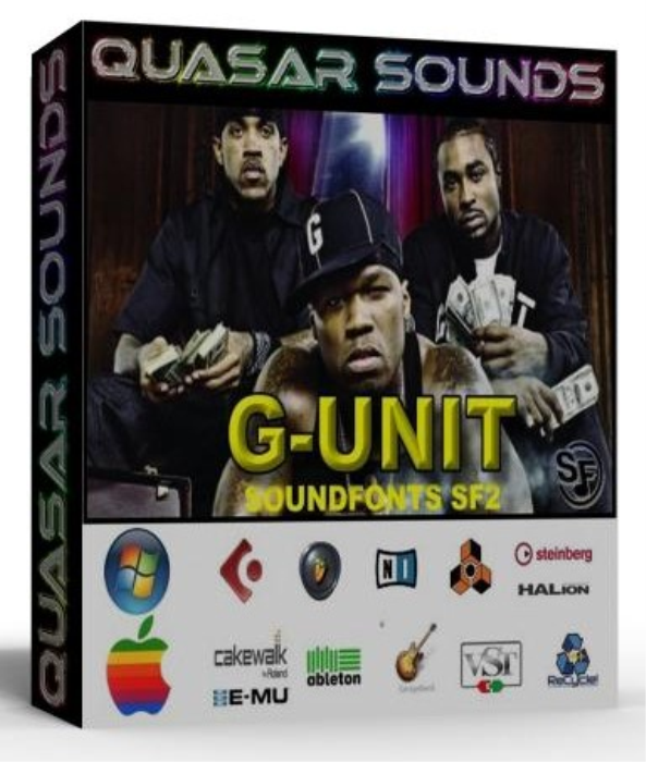 First Additional product image for - G Unit Samples Kit Wave Kontakt Reason Logic Halion