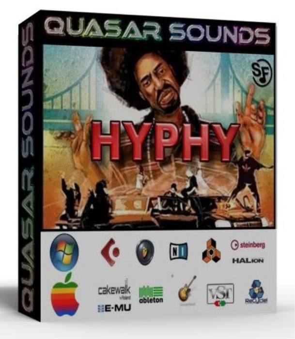 First Additional product image for - Hyphy Samples Kit Wave Kontakt Reason Logic Halion