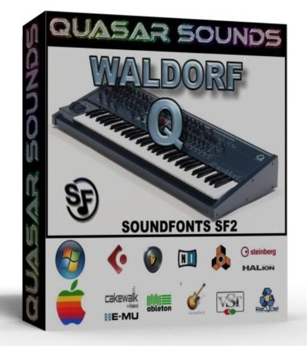 First Additional product image for - Waldorf Q Samples Wave Kontakt Reason Logic Halion
