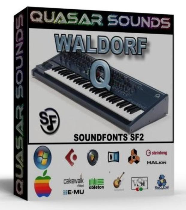 First Additional product image for - Waldorf Q Samples Wave Kontakt Reason Logic Halion