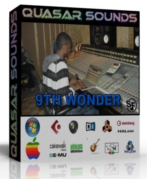 First Additional product image for - 9th Wonder Samples Kit Wave Kontakt Reason Logic Halion