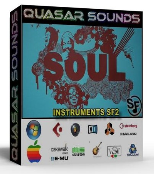 First Additional product image for - Soul Instruments – Drums – Wave Kontakt Reason Logic Halion