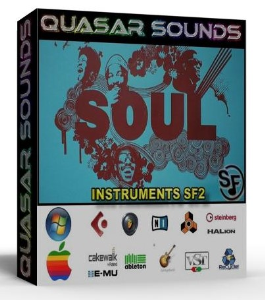 Soul Instruments – Drums – Wave Kontakt Reason Logic Halion | Music | Soundbanks