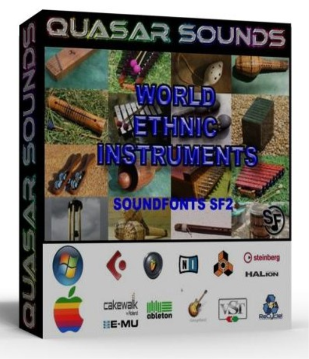 First Additional product image for - World & Ethnic Instruments – Wave Kontakt Reason Logic