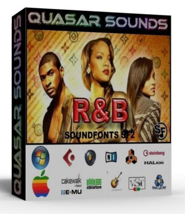 First Additional product image for - R&B Instruments – Drums – Wave Kontakt Reason Logic Halion