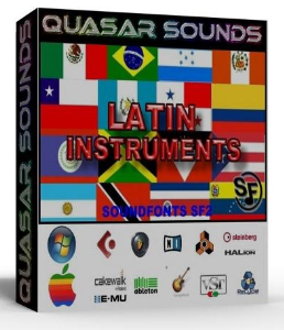 Latin Music Instruments – Wave Kontakt Reason Logic Halion | Music | Soundbanks