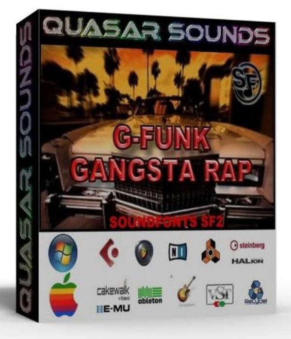 First Additional product image for - G-Funk & Gangsta Rap Samples – Wave Kontakt Reason Logic