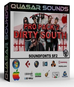 Dirty South Massive Pro Pack 2 – Wav Kontakt Reason Logic | Music | Rap and Hip-Hop