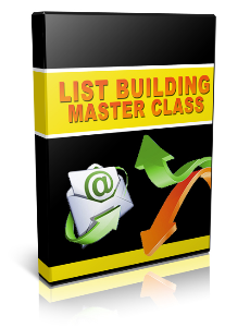 list building master class - video plr