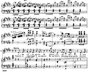 Una voce poco fa. Cavatina for Soprano (Rosina). G. Rossini, ll barbiere di Siviglia (The Barber of Seville), Vocal Score. Ed. Schirmer, it-engl .(1900)   eBooks   Sheet Music