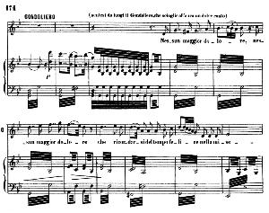 Nessun maggior dolore. Aria for Tenor (Gondoliero). G. Rossini: Otello, Vocal Score. Ed. Ricordi, 1874, Italian.   eBooks   Sheet Music