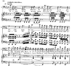 A un dottor della mia sorte. Aria for Bass (Bartolo). G. Rossini: Il barbiere di Siviglia (The barber of Seville), Vocal Score. Ed. Schirmer. 1900, it-engl. | eBooks | Sheet Music