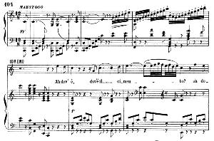 Ah dov'è il cimento. Aria for Bass (idreno). G. Rossini: Semiramide, Vocal Score. Ed. Ricordi. 1875.. Italian. | eBooks | Sheet Music