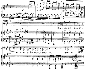 il mio piano e preparato. aria for bass: gottardo (podestà). g. rossini: la gazza ladra (the thieving magpie),vocal score. ed. ricordi. 1876. italian.