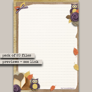 stationery fall pack a4