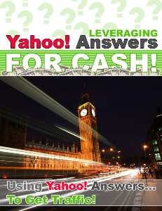 leveraging yahoo answers for cash