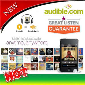 1x audible gift credit for any audiobook of your choice