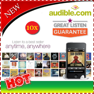 10x audible gift credit for any 10 audiobook of your choice